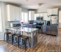 IC Kitchen Makeover – Painting the Cabinets