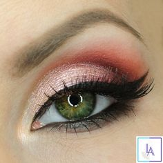 Makeup Geek Eyeshadows in Bitten, Corrupt, and Simply Marlena create this elegant look by Aleksandra Latos Fabryka Makijazu! #makeupgeekcosmetics
