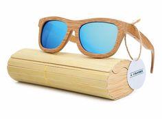 Retro Vintage Handmade Wooden Frame Sunglasses