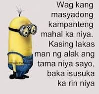 minions hugot pa more - Google Search Patama Quotes, Tagalog Quotes, Qoutes, Hugot Lines Tagalog Love, Hugot Quotes, Lol, Pinoy, Minions, Healthy Lifestyle