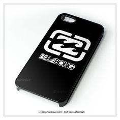 Billabong Logo Surfing Clothing iPhone 4 4S 5 5S 5C 6 6 Plus , iPod 4 5 , Samsung Galaxy S3 S4 S5 Note 3 Note 4 , HTC One X M7 M8 Case