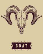 The Skull of a Mountain Goat, Ram Engraving Ab Tattoo, Antler Crafts, Goat Art, Ram Skull, Capricorn Tattoo, Dot Tattoos, Animal Skulls, Mountain Goats, Fossils