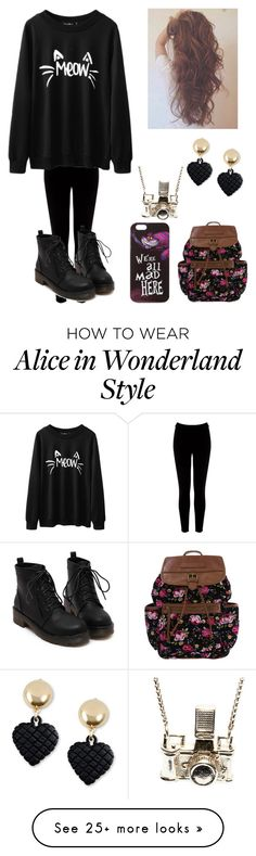 """Untitled #529"" by auroraloves1d on Polyvore featuring Warehouse, Disney, Moschino and Kiel Mead Studio"