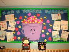 Bucket filling and PBIS Back to school Classroom Walls, Classroom Displays, Classroom Organization, Classroom Ideas, Fill Your Bucket, May Themes, Class Tools, Kindergarten Rocks, Leader In Me