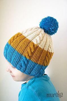 Ravelry: Mureke-pipo pattern by Susanna Mäkelä Knitting Patterns Free, Free Knitting, Baby Knitting, Seahawks Colors, Crochet Magazine, Knitting For Kids, Kids Hats, Diy For Kids, Headbands