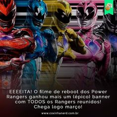 There's been a lot released recently from Lionsgate on Saban's Power Rangers! On Black Friday, Elizabeth Banks a. Rita Repulsa took over the Power Rangers M Power Rangers 2017, Go Go Power Rangers, Rita Repulsa, Pawer Rangers, Rangers News, Elizabeth Banks, Power Rangers Pictures, Rj Cyler, Trini Kwan