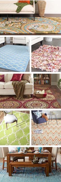 Area rugs, especially those with patterns, help set the tone of a room. For a serene bedroom or home office, stick with patterns in shades of beige, blue, or green. Visit Wayfair and sign up today to get access to exclusive deals everyday up to 70% off. Free shipping on all orders over $49.
