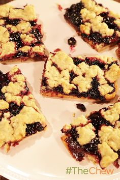 These blueberry lemonade bars create the perfect summer treats!