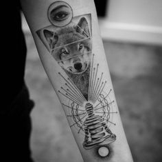 60 Amazing Wolf Tattoos – The Best You'll Ever See - Tattoo İdeas Wolf Tattoos, Native Tattoos, Arm Tattoos, Wolf Tattoo Sleeve, Sleeve Tattoos For Women, Tattoos For Guys, Wolf Tattoo Design, Meditation Tattoo, See Tattoo