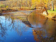 Rockaway River in Lake Hiawatha
