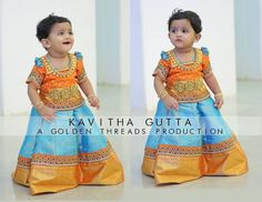 Kids Lehenga by Kavitha Gutta - Indian Dresses