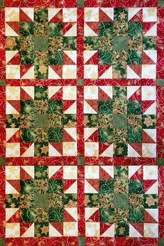 Star Bloom Quilt Kit Holiday Flourish – Jordan Fabrics