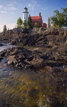 Eagle Harbor Light   Flickr - Photo Sharing!