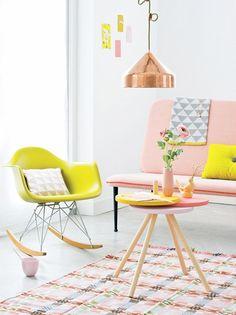Interior design pastel coloured home living room decor inspirational idea Frosta Ikea, Room Inspiration, Interior Inspiration, Design Inspiration, Home Interior, Interior Decorating, Luxury Interior, Decorating Ideas, Interior Shop