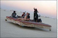 Burning Man 2005 - The Magic Flying Carpet - Photo by Scott London