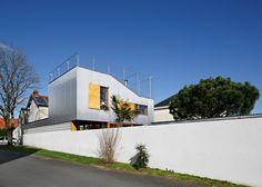 Mabire-Reich's Landscape House has decked roof terraces