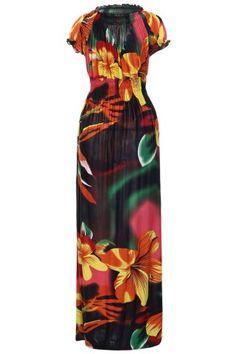 GET $50 NOW   Join RoseGal: Get YOUR $50 NOW!http://www.rosegal.com/plus-size-dresses/trendy-v-neck-elastic-waist-372611.html?seid=7871278rg372611