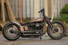 Customized #Harley-Davidson Softail Slim by #Thunderbike #harleydavidsonsoftailslim