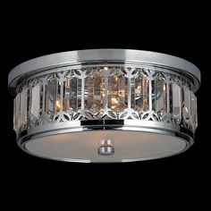 Worldwide Lighting Parlour 4 Light Flush Mount | Wayfair