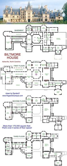 1551ffd99925c53c7f01d695628ab70c.jpg 800×1,956 pixels Hogwarts, Minecraft Buildings, Minecraft Mansion, Minecraft House Plans, Minecraft Castle Blueprints, Die Sims, Sims 3, Biltmore Estate, House Floor Plans