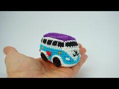 CANAL CROCHET: Furgoneta wolkswagen amigurumi tutorial Crochet Eyes, Crochet Ball, Free Crochet, Amigurumi Doll, Amigurumi Patterns, Crochet Patterns, Crochet Thread Size 10, Single Crochet Stitch, Amigurumi For Beginners
