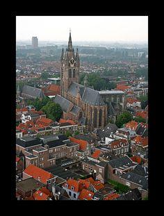 * Oude Kerk * - Delft, Jižní Holandsko
