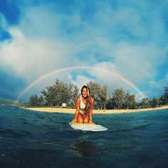 Be the rainbow because you are the rainbow..............GoPro Picture of The Day