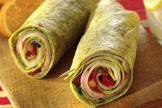Sassy Turkey & Cheese Mexican Wrap