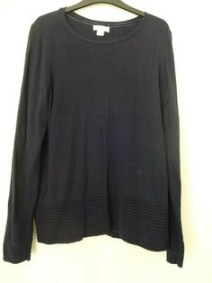 M/&S COLLECTION  Ribbed Split Cuff Short Sleeve Jumper Blue Black Pink Size 6-24