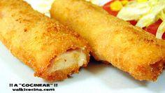 Rollos de jamón york y queso rellenos de pollo