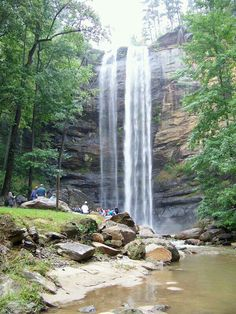 Anna Ruby Falls - Helen, GA. This was breathtakingly beautuful!