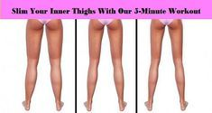 Slim Your Inner Thighs With Our 5-Minute Workout - My Amazing Stuff