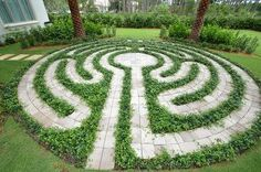 Labyrinth Garden Ideas | Labyrinth | Garden
