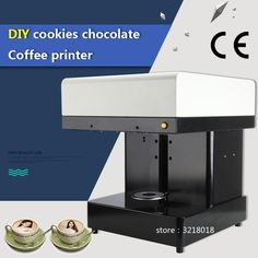 2017 Factory direct hot sale Cappuccino Selfie Latte Art Coffee Printer Face Machine/Chocolate Printer with Food ink – Coffee Printer, 3d Printer, Led Store, Latte Art, Tea Cakes, Chocolate Cookies, Yogurt, Printing, Diy