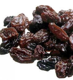 Raisins are good for you.  Not only do they contain a concentrated source of energy, vitamins and minerals, but they also contain phytonutrients and fiber!  The phytonutrients help to reduce inflammation In the body, are cancer fighters, and have blood cholesterol fighting effects.  Additionally, they are rich in potassium which reduces blood pressure by countering sodium and thereby prevent strokes, CHD and peripheral vascular diseases.