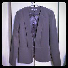 Jennifer Lopez Blazer Jennifer Lopez Blazer. Light purple/grey. Front hook closure. Shell/Lining 100% polyester. Size XS Jennifer Lopez Jackets & Coats Blazers