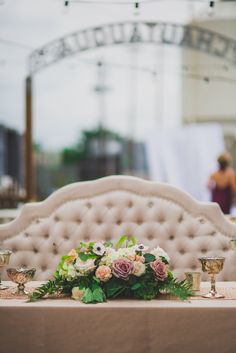 Pretty florals and mercury glass make for a perfect tablescape. Floral and Decor by Southern Event Planners. Photo by Natasha Durham Photography Centerpieces, Table Decorations, Event Planners, Mercury Glass, Durham, Tablescapes, Florals, Southern, Pretty