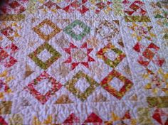 Middenstuk eerste quilt