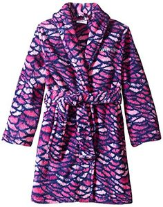 Calvin Klein Big Girls Printed Plush Robe, Fuchsia, 10/12 ** Continue to the product at the image link. We are a participant in the Amazon Services LLC Associates Program, an affiliate advertising program designed to provide a means for us to earn fees by linking to Amazon.com and affiliated sites.