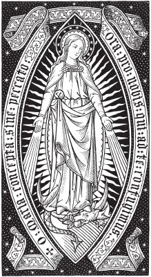 O Mary,conceived without sin, pray for us who have recourse to thee