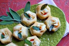 Apricot Brie Bites with Crispy Sage | Recipe Girl