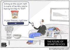 """As the Internet of Things continues to explode in the home, what is the place for consumer brands?"" - Tom Fishburne 