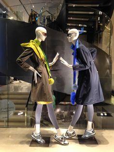 MaxMara spring collection 2015 - Milan fashion windows