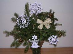 Vánoční ozdoby s popisem od Laydi - NÁVODY NA HÁČKOVÁNÍ