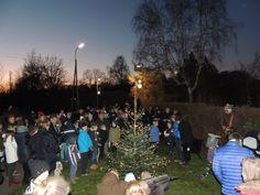 juletræstænding i Gadevang