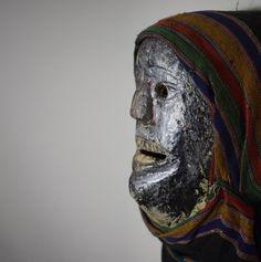 Chewa Nyau Anthropomorphic Mask - Zambia, Eastern Province #ChewaCarver