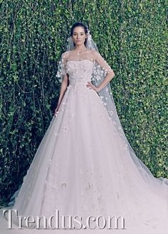 Lebanese fashion designer Zuhair Murad unveiled his highly anticipated bridal collection for fall 2014 season. In case you have missed it, see Zuhair Murad Wedding Dresses 2014, Designer Wedding Dresses, Bridal Dresses, Wedding Gowns, Zuhair Murad Bridal, Zuhair Murad Dresses, Mod Wedding, Wedding Bride, The Bride