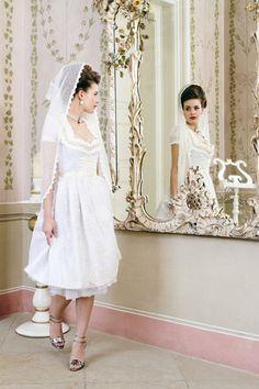 wedding dirndl dress.