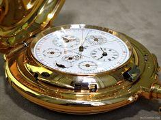 WatchAnish x Audemars Piguet unique Grand Union pocket watch Marcus London Steampunk Pocket Watch, Vintage Pocket Watch, Antique Watches, Vintage Watches, Luxury Watches, Rolex Watches, Marcus London, Cool Watches, Watches For Men