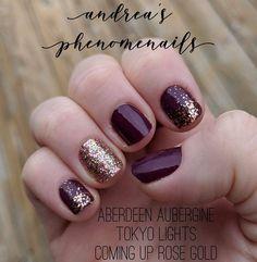Glam Nails, Beauty Nails, Toe Nails, Red And Gold Nails, Sparkly Nails, Short Nail Manicure, Manicure And Pedicure, Nail Color Combos, Nail Colors